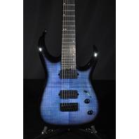 Jackson Pro Series Misha Mansoor Juggernaut HT7FM Oceanburst Guitar Mint