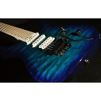Jackson Pro Dinky DK3QM Chlorine Burst Guitar