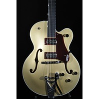 Gretsch G6118T-135TH Pro Anniversary 2-Tone Casino Gold/Dark Cherry Metallic Guitar 2018