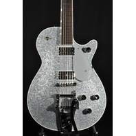 Gretsch G6129T-PE Players Edition Silver Sparkle Jet Guitar Mint 2018