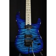 Charvel SD1 HH FR Pro Mod  San Dimas Guitar Chlorine Burst