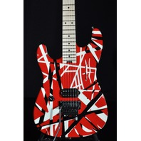 EVH Stripe Series Lefty Red/Black/White Guitar EVH1700944
