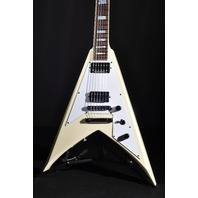Jackson USA Custom Shop Scott Ian KV Ivory Guitar
