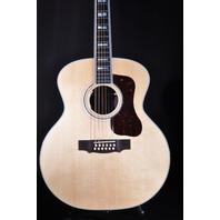 Guild USA F-512E 12 String AC/EL Jumbo Guitar W/ Hardshell Case 2018