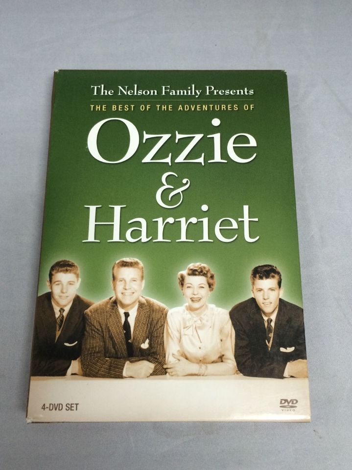 The Best Of The Adventures Of Ozzie And Harriet 4 Dvd