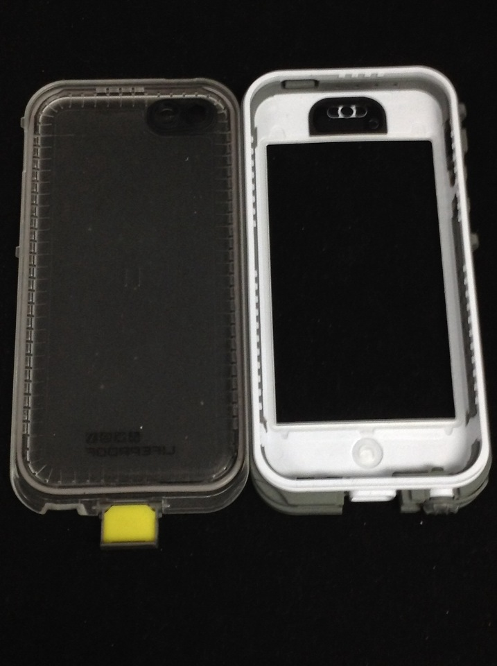 Lifeproof iPhone 5c Nuud Case - Carrying Case - White ...