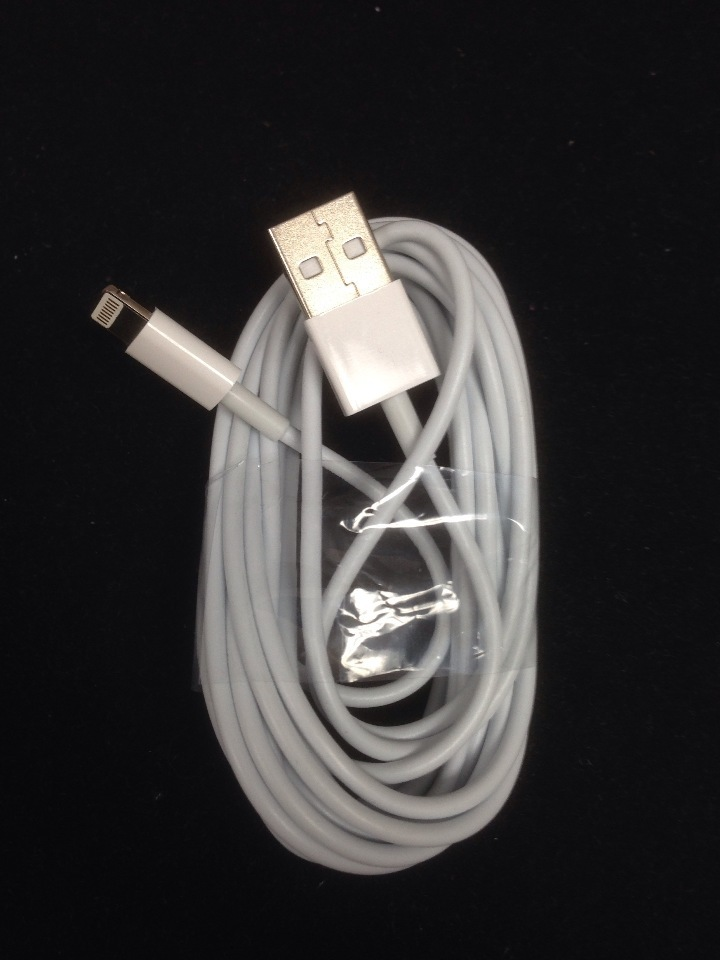 10 foot Apple iPhone 7 6 5, iPod 5g, iPad mini 4 Air USB charge cable - 8 pin