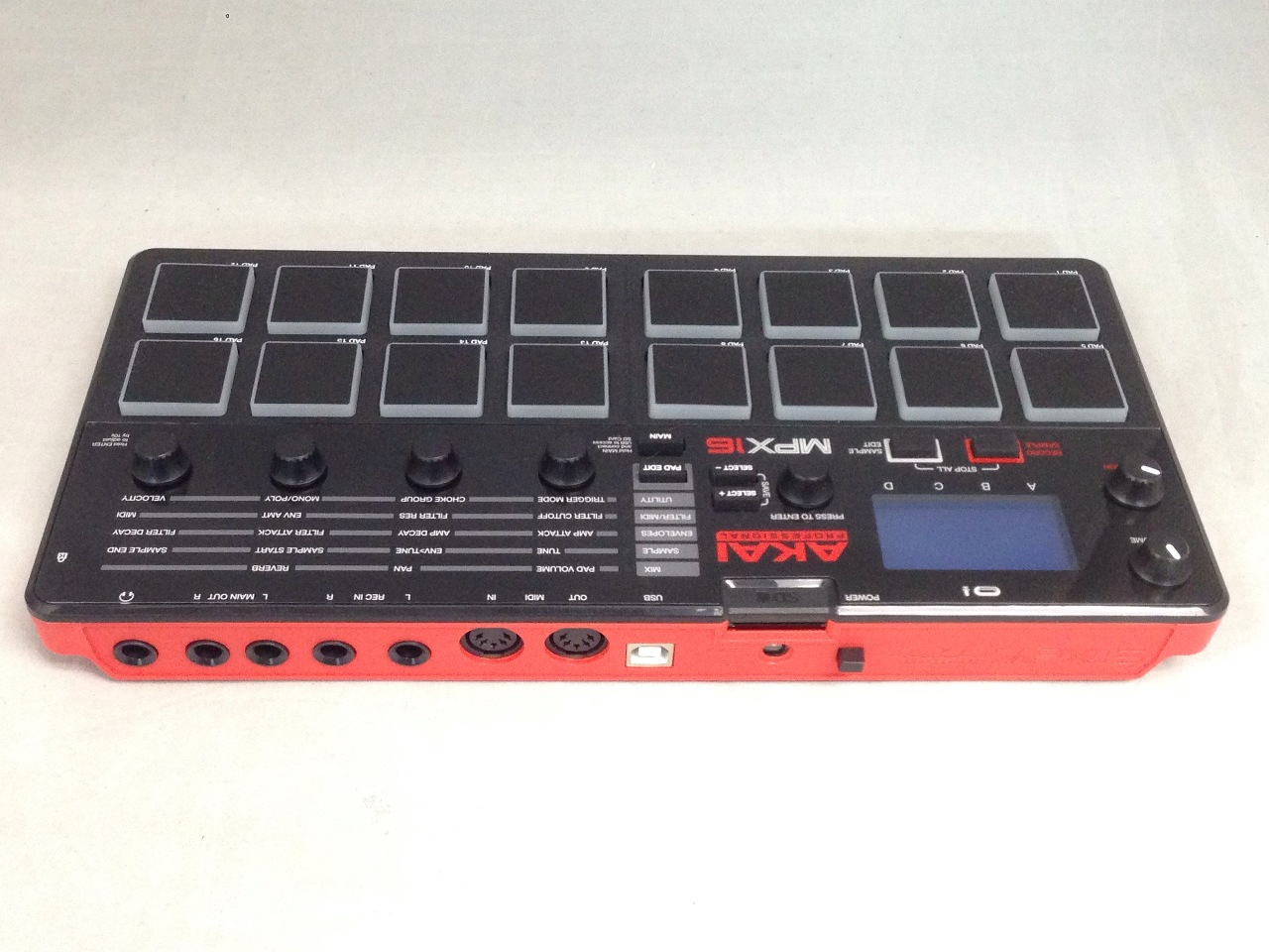 akai professional mpx16 sample recorder and player with sd card slot ebay. Black Bedroom Furniture Sets. Home Design Ideas