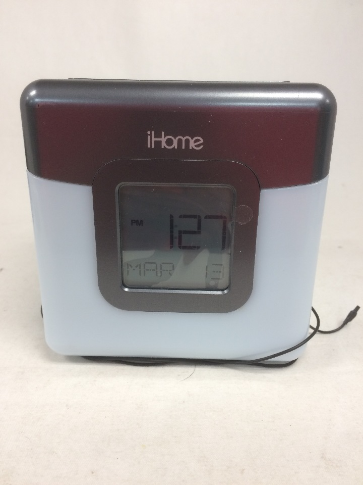 ihome bluetooth color changing dual alarm clock fm radio with usb charging ebay. Black Bedroom Furniture Sets. Home Design Ideas