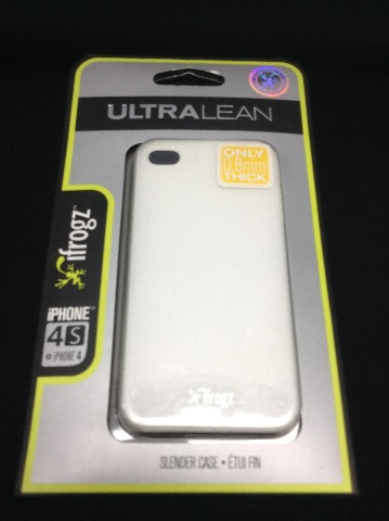 Ifrogz iP4ul-Wht Ultralean Case For iPhone 4 & 4s - White