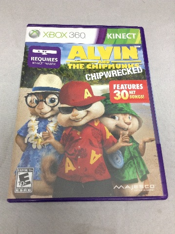 Alvin And The Chipmunks: Chipwrecked - Xbox 360 - SEALED