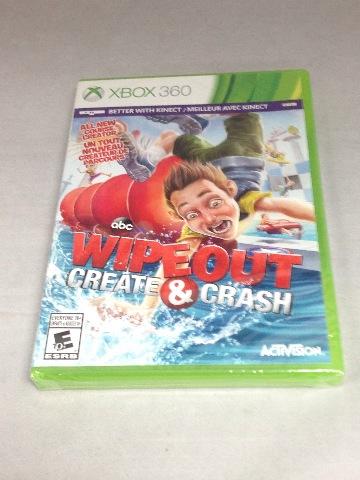 Wipeout: Create & Crash - Xbox 360 - NEW SEALED