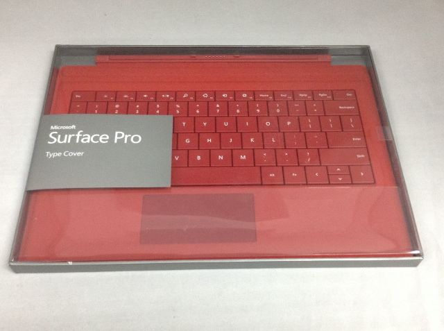 Microsoft Surface Type Cover Keyboard for Surface Pro 3 Red 1644 RD2-00077