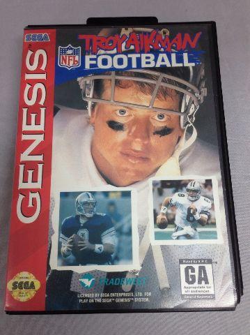 Troy Aikman Football - Sega Genesis
