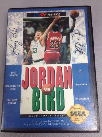 Jordan vs. Bird - Sega Genesis