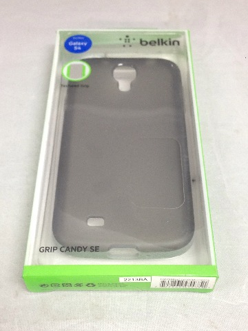 Belkin Grip Candy for Samsung Galaxy S4  - Retail Packaging - Gravel/Stone
