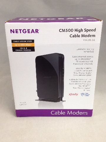 Netgear CM500 High Speed Cable Modem