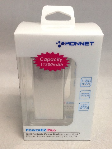 Konnet KN-6327 PowerEZ Pro Extend Battery for cell phones and tablets - Silver