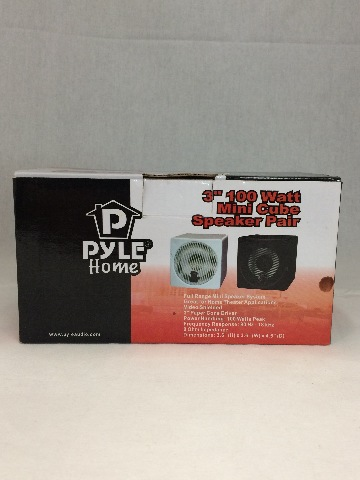 "Pyle home 3"" 100 watt mini cube speaker"