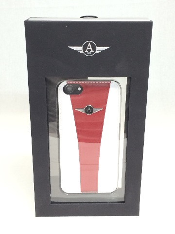 Avani iPhone 5s case - Red/White
