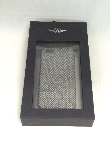 Avani iPhone 5/5S Tweed Hard Shell Case - Black/white