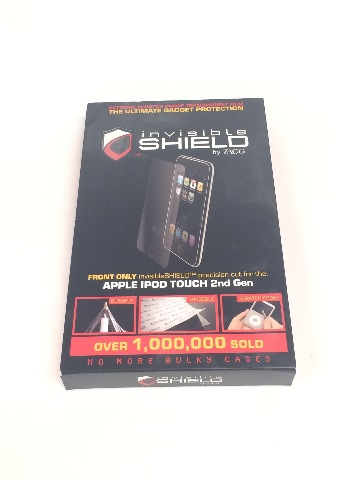 ZAGG invisibleSHIELD for iPod touch 2G, 3G (Front)