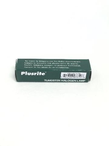Plusrite 3350 - 100 Watt Halogen Light Bulb - T3 - R7s Base - Clear - 2,000 Hrs