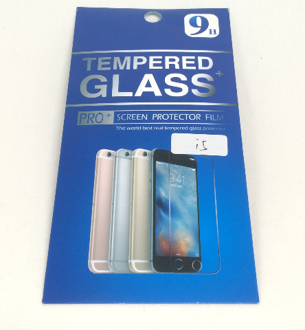 Tempered Glass Screen Protector - iPhone 5 5s 5c SE