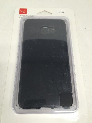 Silicone Cover fits Samsung Galaxy S6 edge Plus - Matt Black