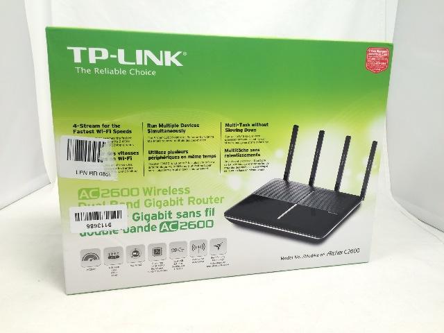 TP-Link AC2600 Wireless Wi-Fi Gigabit Router 4-Stream Technology (Archer C2600)