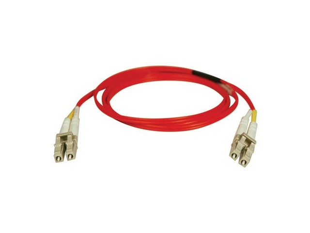 Tripp Lite Duplex Multimode 62.5/125 Fiber Patch Cable (LC/LC) - Red, 3M (10-ft)