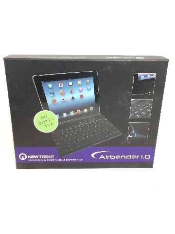 New Trent Airbender Clamshell iPad Keyboard Case for iPad 2/3/4 ONLY