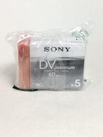 Premium Dv Videocassette x6