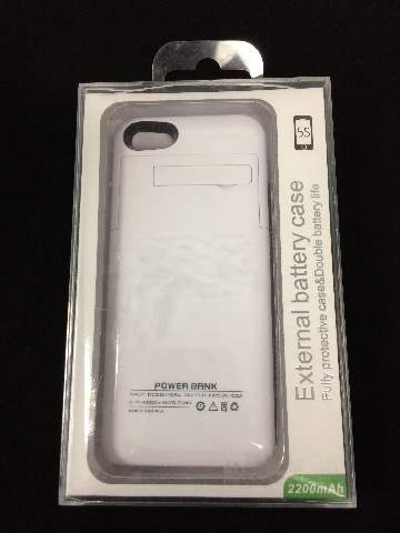 Power Bank External Battery Case IPhone 5/5s 2200mAh white