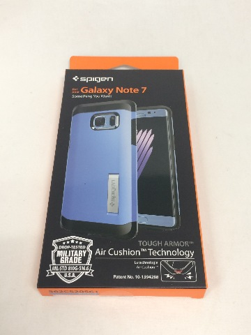 Spigen Tough Armor Case for Galaxy Note 7 Coral Blue