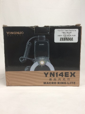 YN-14EX-C Macro Ring Lite for Canon Cameras