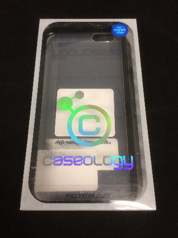 iPhone 6 PLUS Case, Caseology Scratch-Resistant Clearback Cover - Black