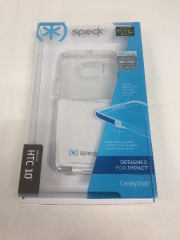 Speck Products CandyShell Clear Case for HTC 10 Smartphone - Clear