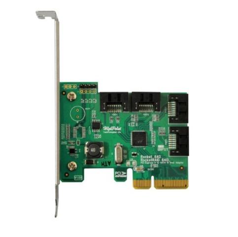 HighPoint R640L Rocket 640L HBA Series SATA 6Gb s RAID HBA JBOD 4Port