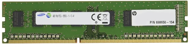 HP 1 x 4GB DDR3L SDRAM N1M46AT