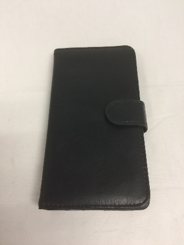 Bear Motion 100% Genuine Leather Wallet Case for Note 4, Built in Stand (Black)