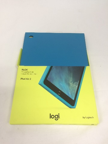 Logitech BLOK Protective Shell for iPad Air 2, Teal/Blue (939-001255)