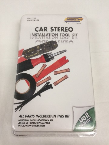 Metra Tool Kit for Vehicle Stereo Installation