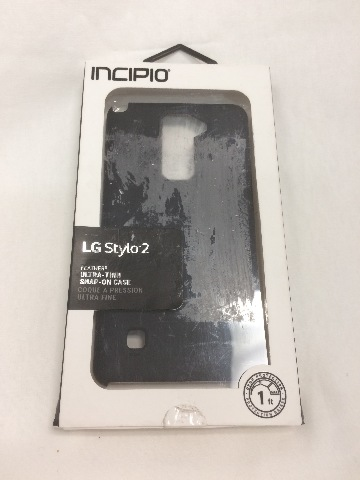 LG G Stylo 2 Case, Incipio [Hard Shell] [Dual Layer] DualPro Case - Black