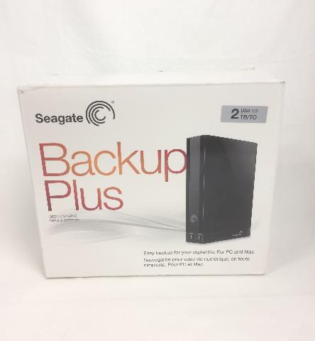 Seagate Backup Plus 2 TB USB 3.0 Desktop External Hard Drive Stca2000100