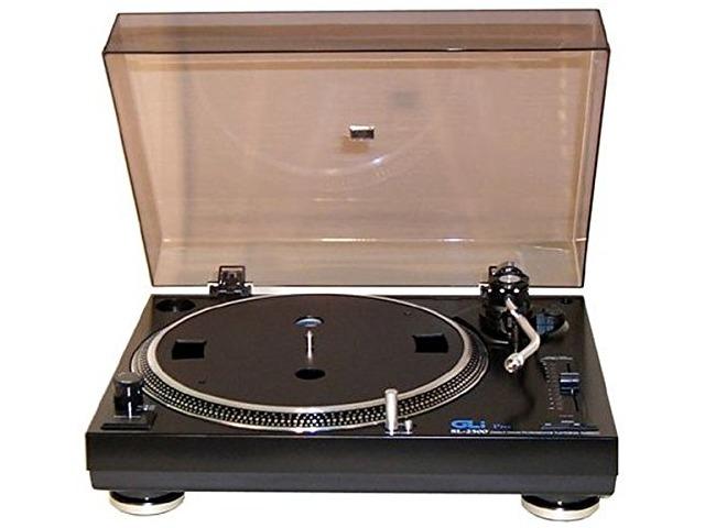 GLi SL2500 Direct Drive Manual Arm DJ Record Turntable, needs headshell & needle