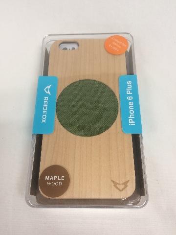 Raidfox iPhone 6 PLUS/6s PLUS Eco-Friendly Natural Wood Hard Case - (Maple)