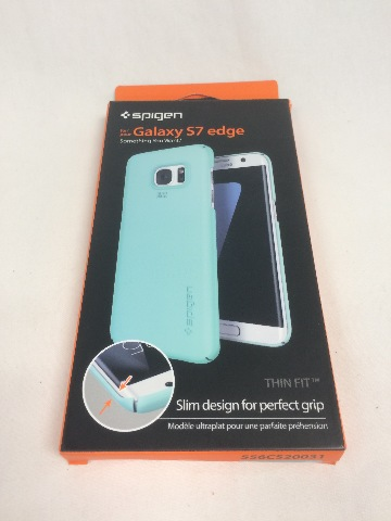 Spigen Thin Fit Galaxy S7 Edge Case with Premium Matte Finish Coating for - Mint