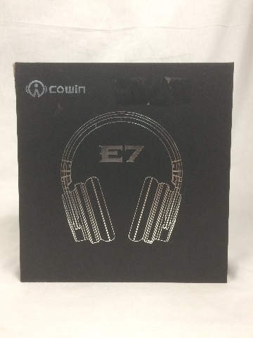 Cowin E-7 Wireless Bluetooth Over-ear Stereo Headphones, Mic & Vol. Control, Blk