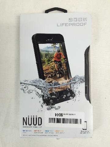 """Lifeproof NÜÜD SERIES iPhone 6s Plus ONLY Waterproof Case (5.5"""" Version) BLACK"""
